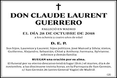 Claude Laurent Guerrero